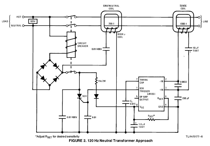 Tripping Circuit Breaker - Electrical